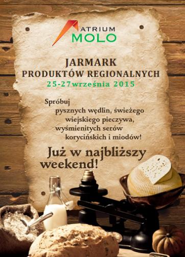 Jarmark Produktów Regionalnych w Atrium Molo!