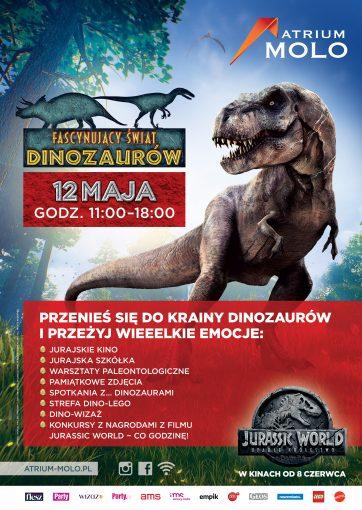 Fascynujący Świat Dinozaurów w Atrium Molo