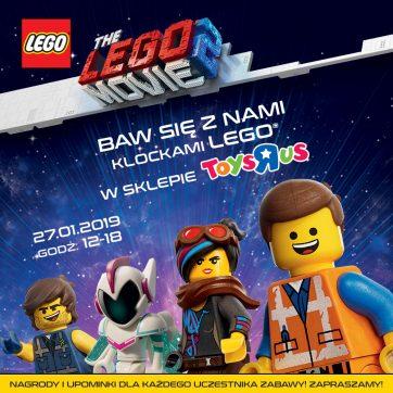 Zabawa z LEGO w sklepie Toys
