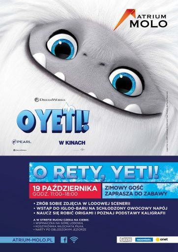 O rety Yeti! – do Atrium Molo nadciąga zima!