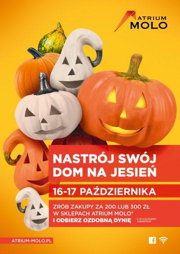 Nastrój swój dom na jesień w Atrium Molo!