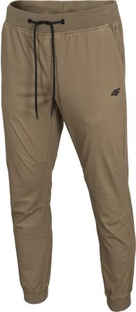4F - Spodnie beżowe dresowe