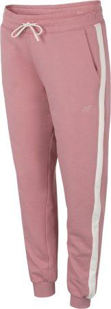4F - Spodnie dresowe roż