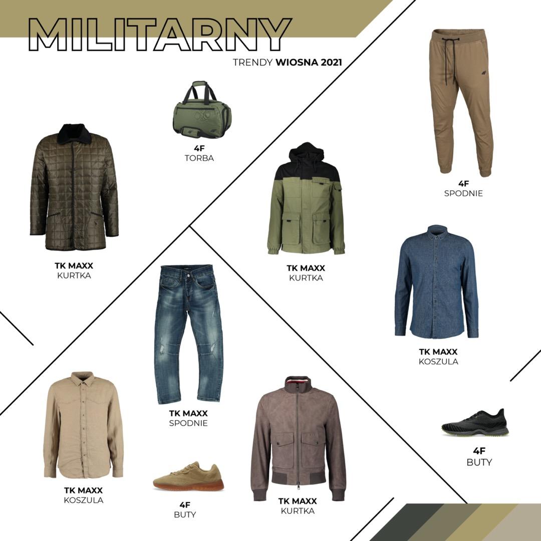 STYL MILITARNY / SAFARI