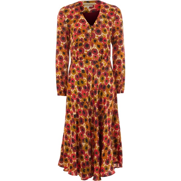 Tk Maxx - Długa sukienka pomarańczowa