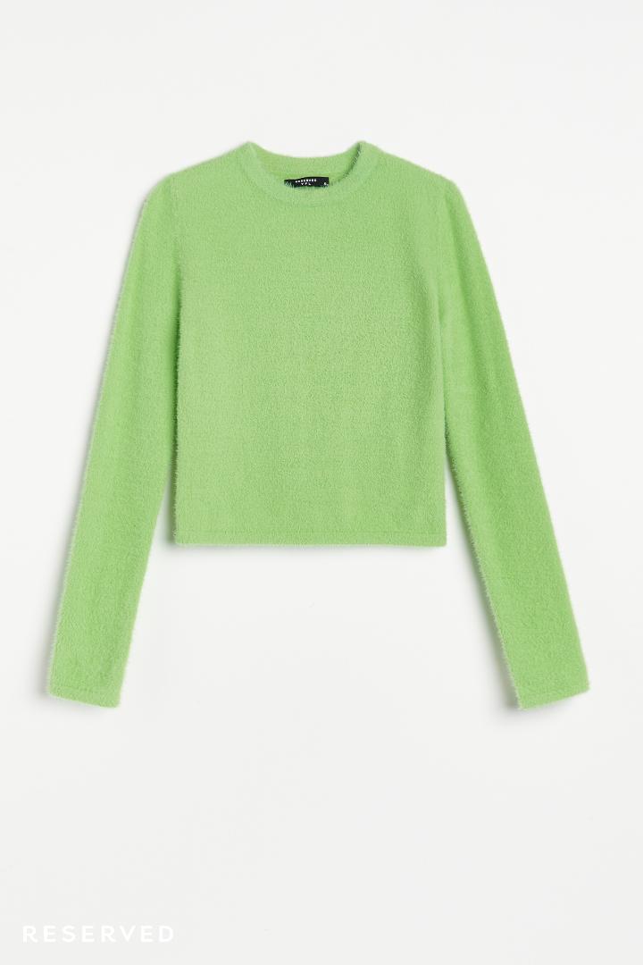 Reserved - Sweterek zielony