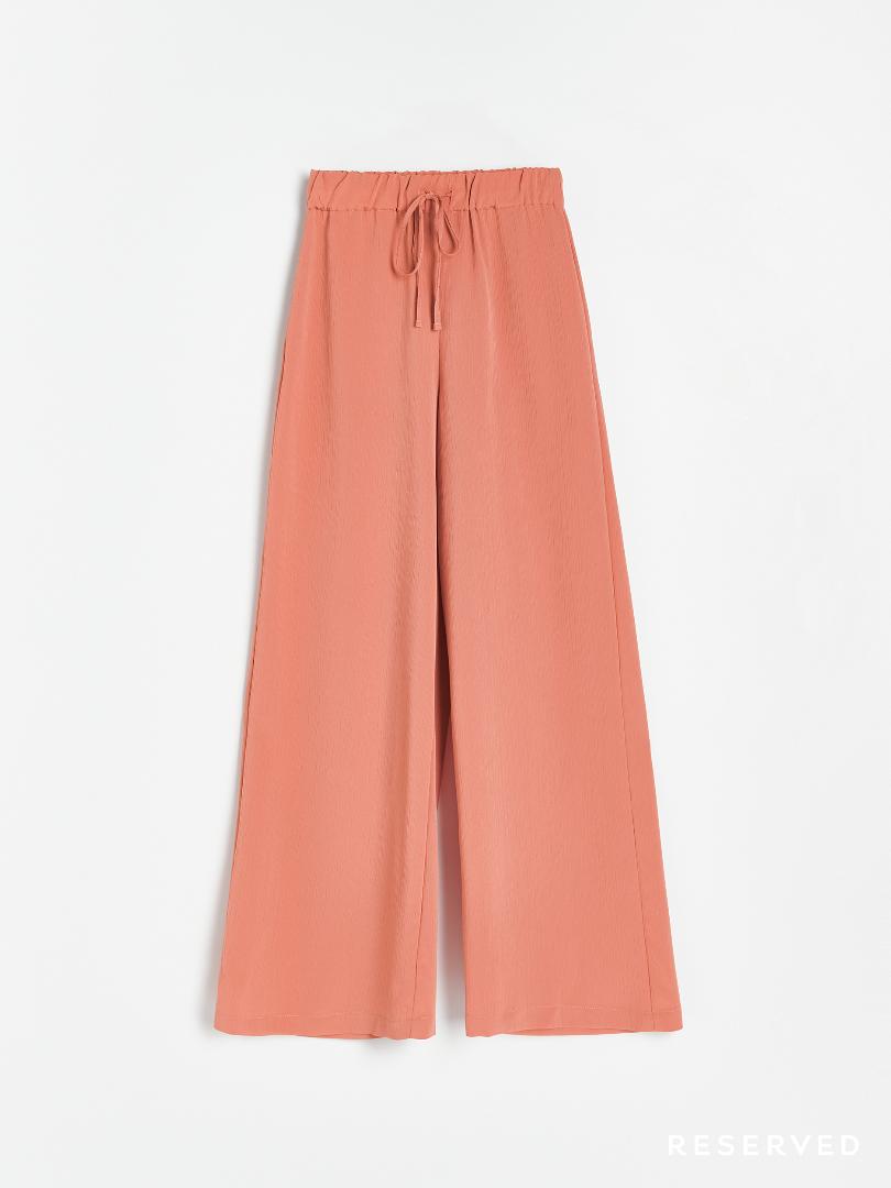 Reserved - Spodnie szerokie