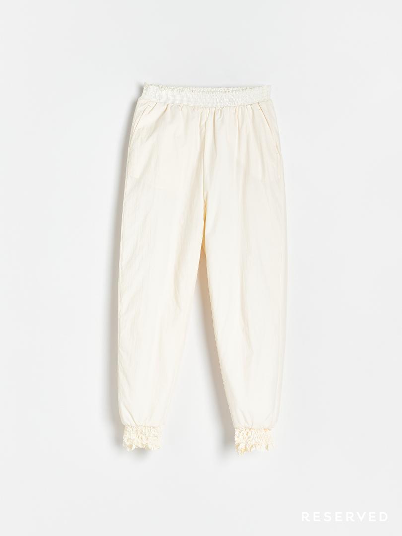 Reserved - Spodnie białe