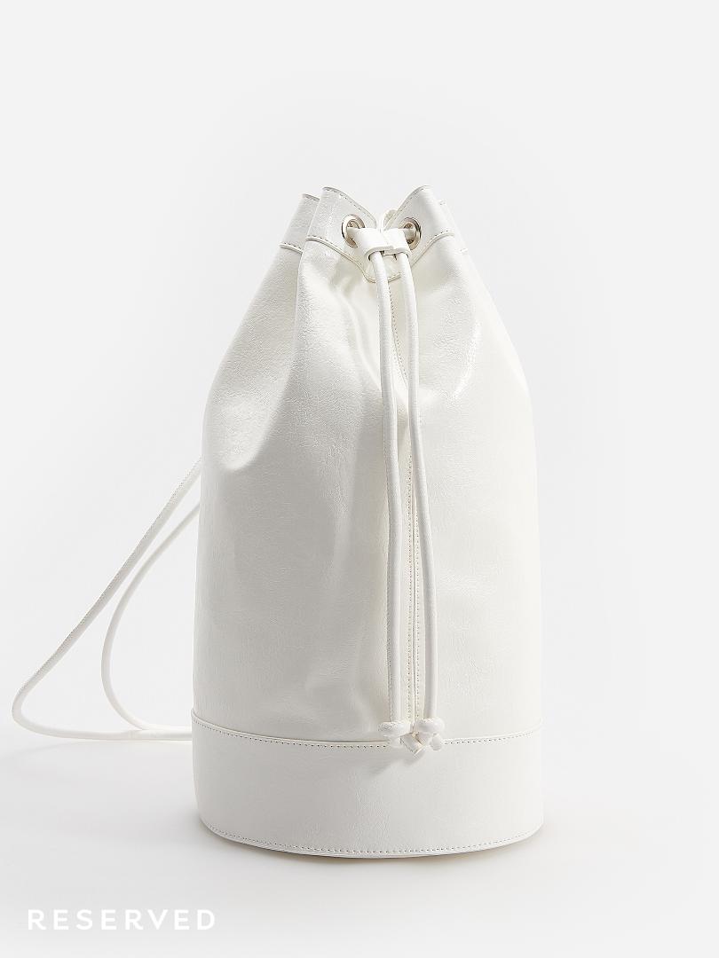 Reserved - Biały worek