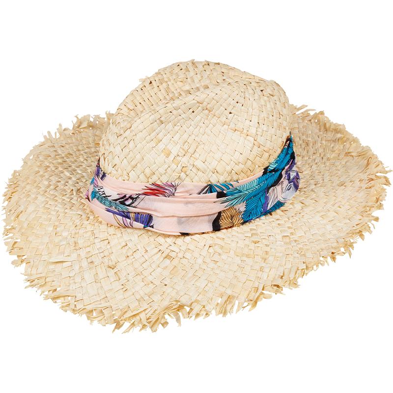 Tk Maxx - kapelusz słomiany z ozdobą
