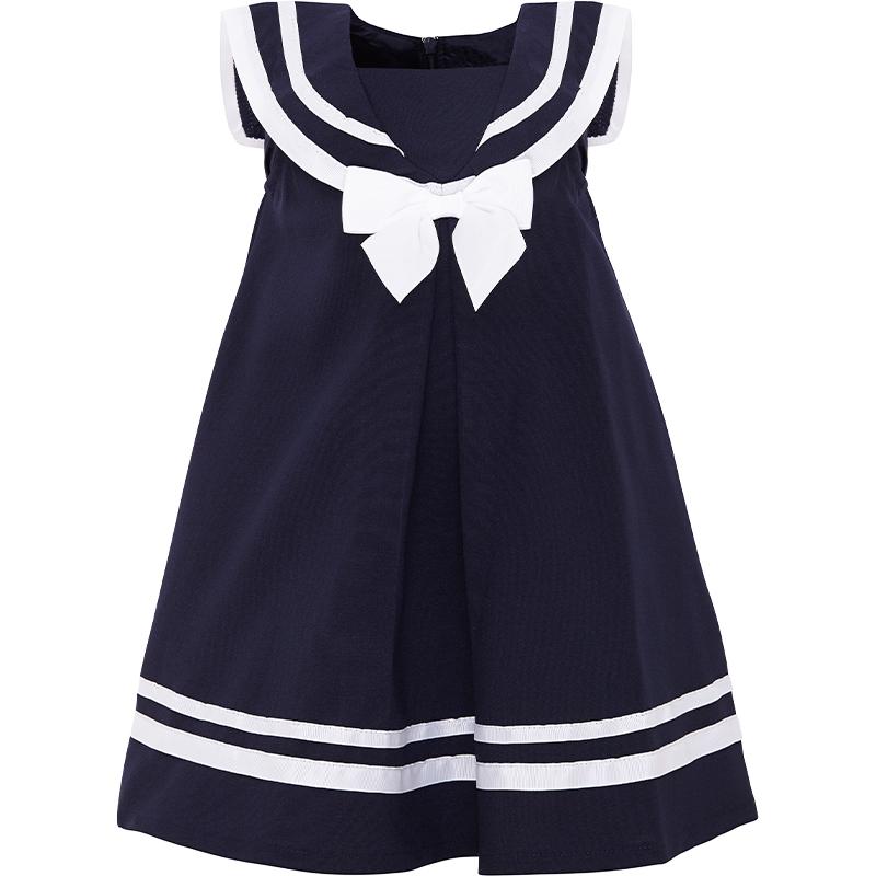 Tk Maxx - sukienka w marynarski wzór