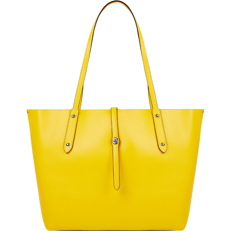 Tk Maxx - torba w intensywnym żółtym kolorze