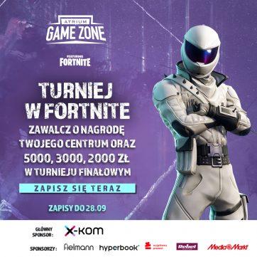 TURNIEJ FORTNITE ATRIUM GAME ZONE